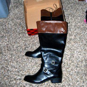 Arizona riding boots azdakota black cognac 9.5